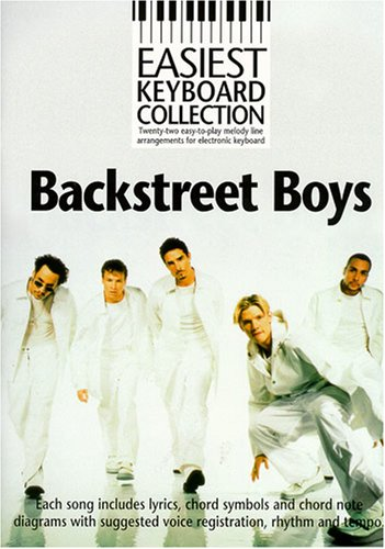 Easiest Keyboard Collection By Backstreet Boys