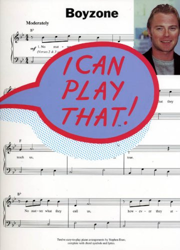 I Can Play That] Boyzone By Various