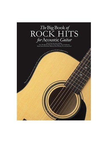 The Big Book of All Hits for Acoustic Guitar by