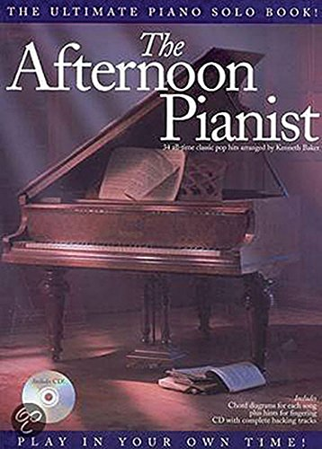 Afternoon Pianist By Kenneth Baker