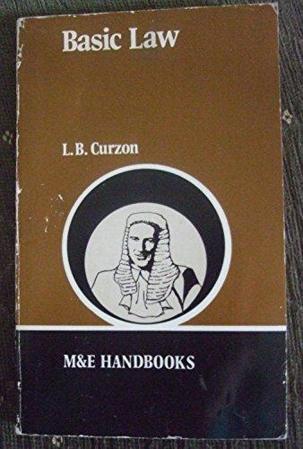 Basic Law By L.B. Curzon