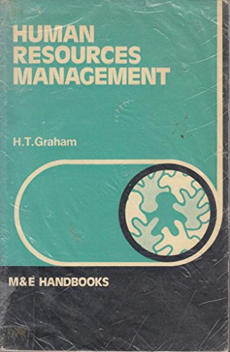 Human Resources Management By H.T. Graham