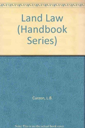 Land Law By L.B. Curzon