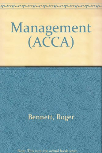 Management By Roger Bennett
