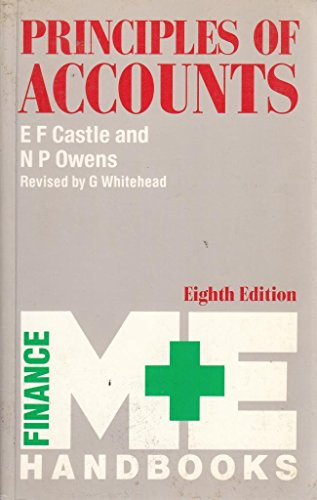 Principles of Accounts by E.F. Castle