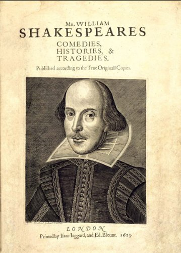 Plays from Shakespeare's First Folio By William Shakespeare
