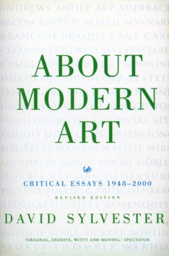 About Modern Art By David Sylvester