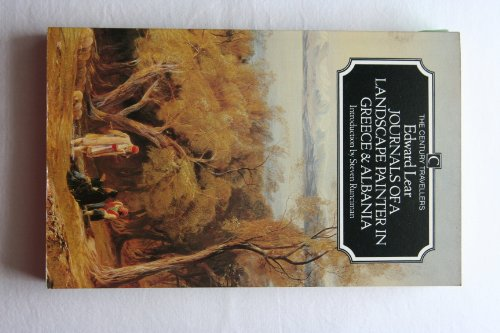 Journals of a Landscape Painter in Greece and Albania By Edward Lear