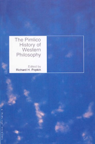 The Pimlico History Of Western Philosophy By Richard H. Popkin