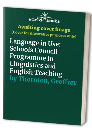Language in Use By Peter S. Doughty