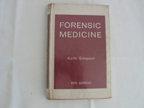 Forensic Medicine by Keith Simpson