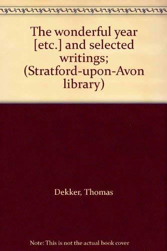 Thomas Dekker By E.D. Pendry