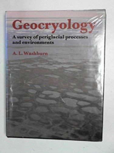 Geocryology By A.L. Washburn