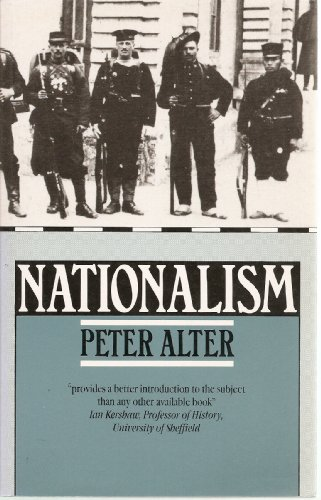 Nationalism By Peter Alter