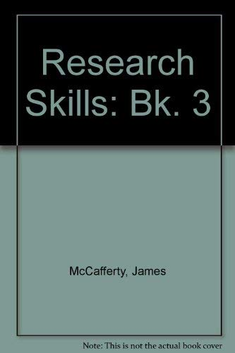 Research Skills 3: Bk. 3 by James McCafferty