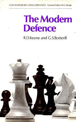 Modern Defence By Raymond Keene