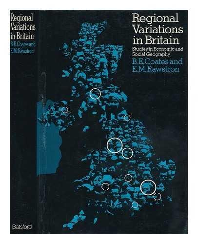 Regional Variations in Britain By Eric Mitchell Rawstron