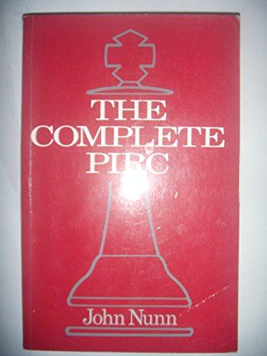 The Complete Pirc By John Nunn