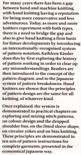 Machine and Hand Knitting: Pattern Design by Kathleen Kinder