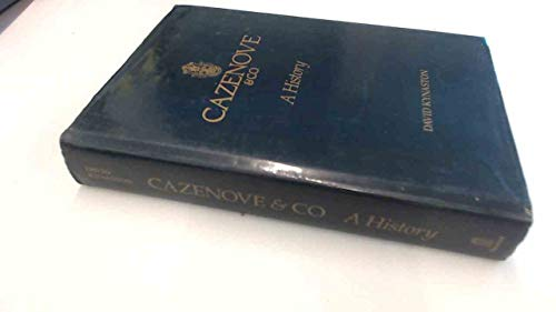 Cazenove & Co. By David Kynaston