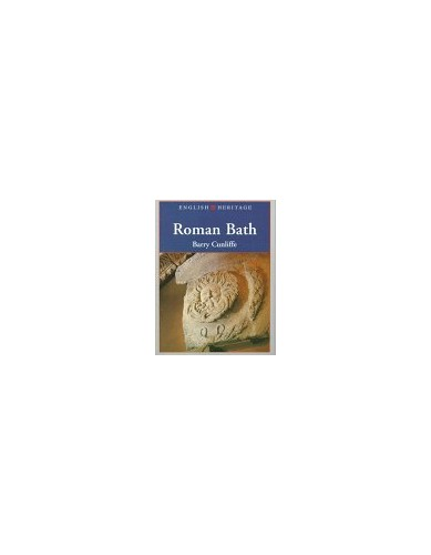 EH BOOK OF ROMAN BATH By Barry Cunliffe