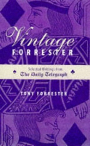 VINTAGE FORRESTER SELECTED WRIT By Tony Forrester