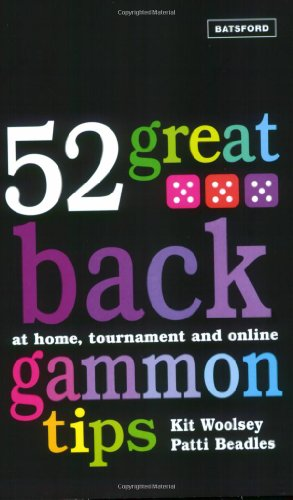 52 Great Backgammon Tips By Patti Beadles