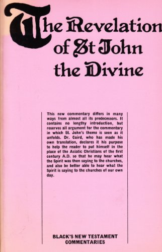 Revelation of St.John the Divine By G.B. Caird