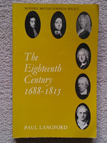Eighteenth Century, 1688-1815 By Paul Langford