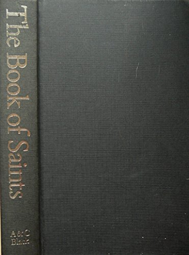 The Book of Saints By Benedictine Monks of St.Augustine's Abbey,Ramsgate
