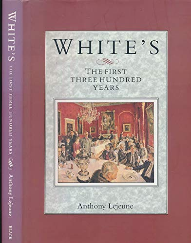 White's By Anthony Lejeune