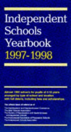 Independent Schools Year Book By Various