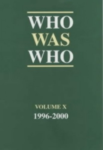 Who Was Who By By (author)