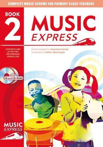 Music Express: Book 2 (Book + CD + CD-ROM) By Helen MacGregor