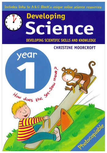 Developing Science: Year 1 Developing Scie... by Moorcroft, Christine 0713666404