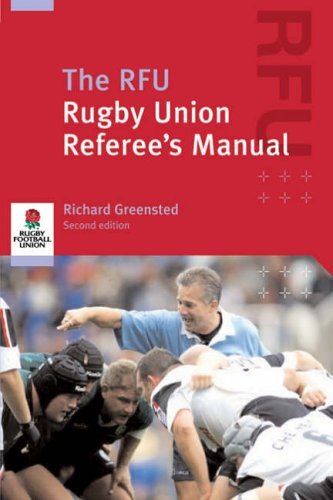 The RFU Rugby Union Referee's Manual By Union Rugby Football