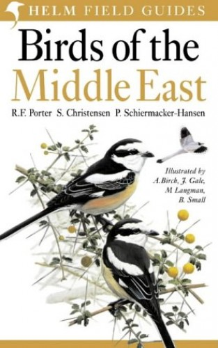 Birds of the Middle East By S. Christensen