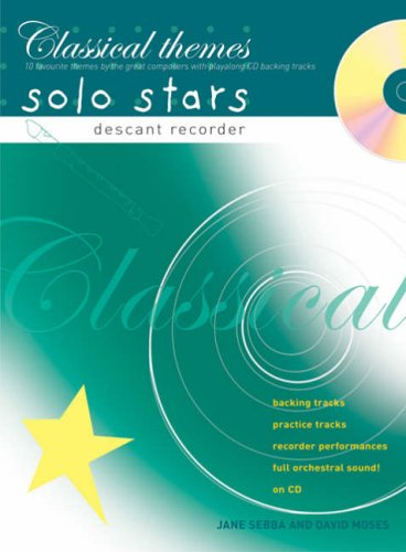 Recorder Magic Classical Themes Solo Stars By Jane Sebba