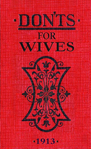 Don'ts for Wives by Blanche Ebbutt