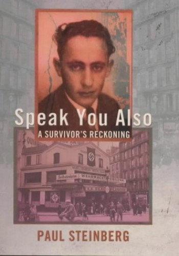Speak You Also By Paul Steinberg