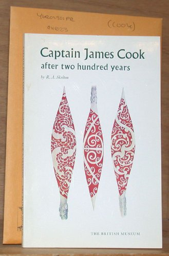 Captain James Cook By R. A. Skelton