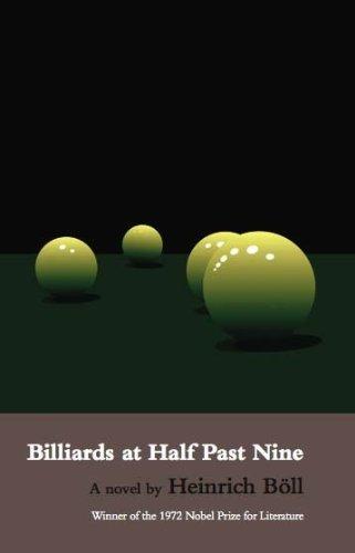Billiards at Half Past Nine By Heinrich Boll