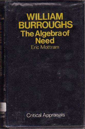 William Burroughs par Eric Mottram
