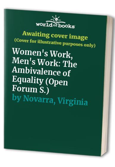 Women's Work, Men's Work By Virginia Novarra