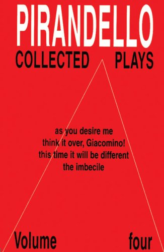 Collected Plays By Luigi Pirandello