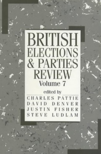 British Elections and Parties Review By Edited by David Denver
