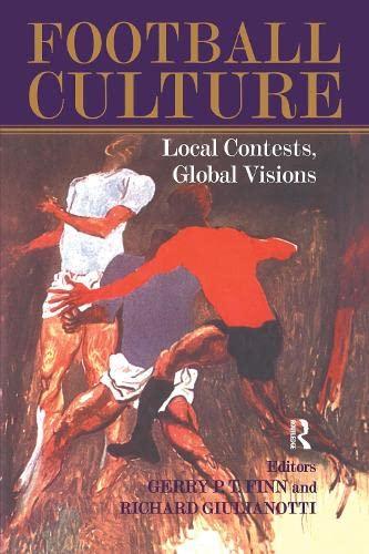 Football Culture By Edited by Gerry Finn