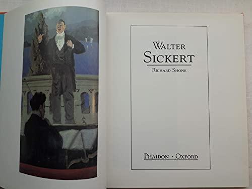 Walter Sickert By Richard Shone