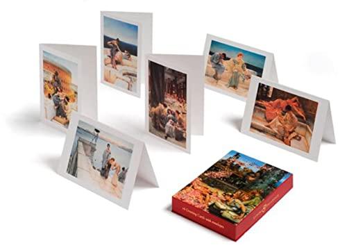 Lawrence Alma-Tadema; Luxury & Decadence Greeting Cards By Sir Lawrence Alma-Tadema