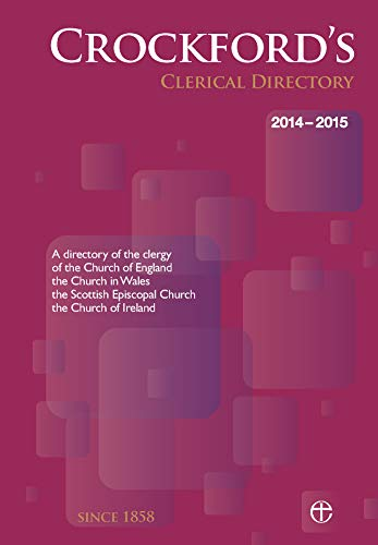 Crockford's Clerical Directory 2014/15 (hardback) By Church of England